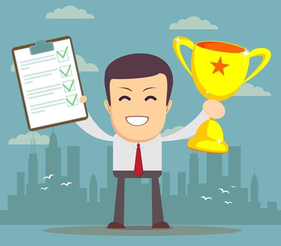 bigstock-Winner-businessman-92312585