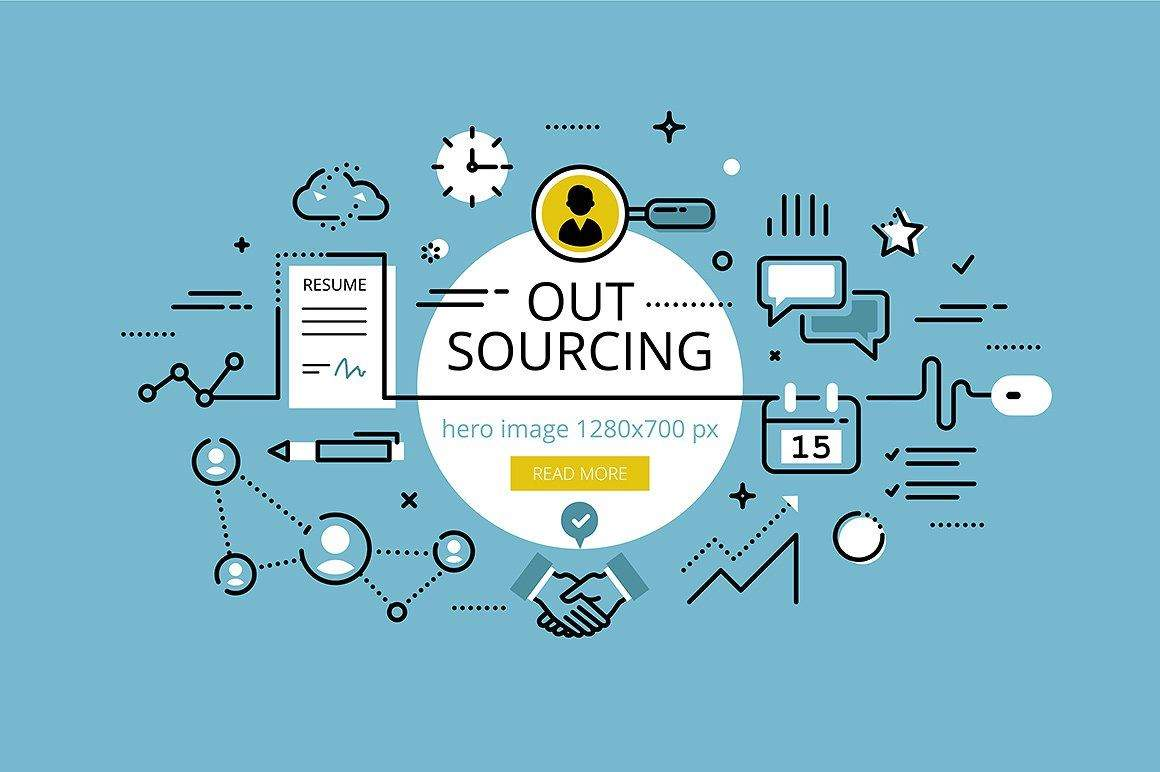 outsourcing.-flat-line-color-hero-images-and-hero-banners-design-concept.-copy-